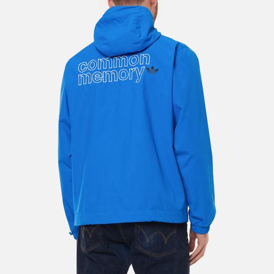 Мужская куртка ветровка adidas Originals Graphics Common Memory Pack Bluebird