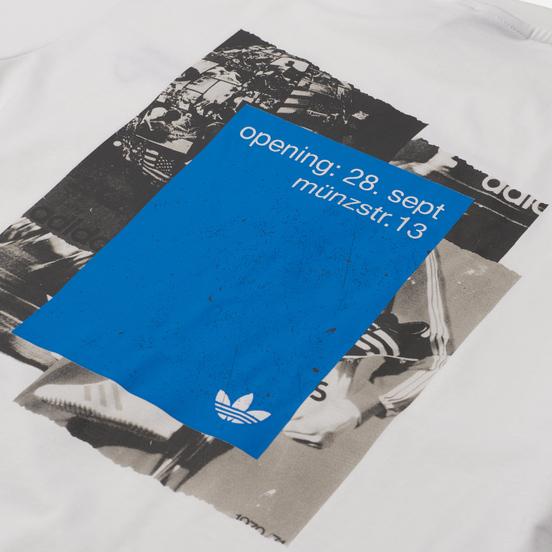 Мужская футболка adidas Originals Graphics Common Memory Pack White