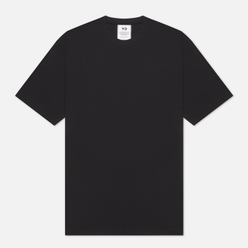 Мужская футболка Y-3 3 Stripe Crew Neck Black
