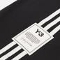 Мужская футболка Y-3 3 Stripe Crew Neck Black фото - 2