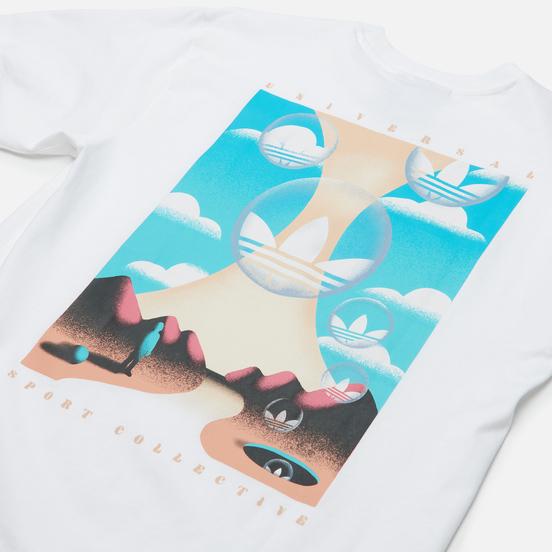 Мужская футболка adidas Originals Summer Box Linear White