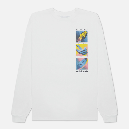 Мужской лонгслив adidas Originals Summer Icons White
