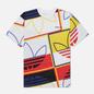 Мужская футболка adidas Originals All Over Print Logo Play White фото - 0