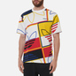 Мужская футболка adidas Originals All Over Print Logo Play White фото - 2