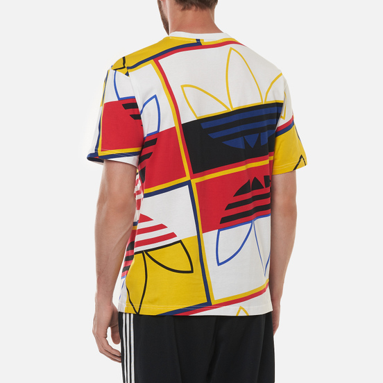 Мужская футболка adidas Originals All Over Print Logo Play White