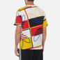 Мужская футболка adidas Originals All Over Print Logo Play White фото - 3