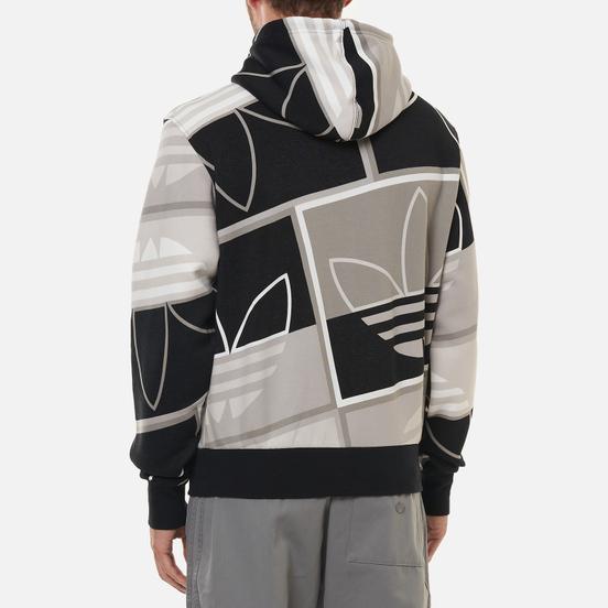 Мужская толстовка adidas Originals All Over Print Logo Play Hoodie Black