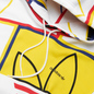 Мужская толстовка adidas Originals All Over Print Logo Play Hoodie White фото - 1