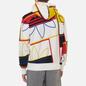 Мужская толстовка adidas Originals All Over Print Logo Play Hoodie White фото - 3