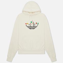 Мужская толстовка adidas Originals Floral Trefoil Hoodie Non-Dyed