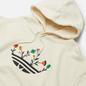 Мужская толстовка adidas Originals Floral Trefoil Hoodie Non-Dyed фото - 1