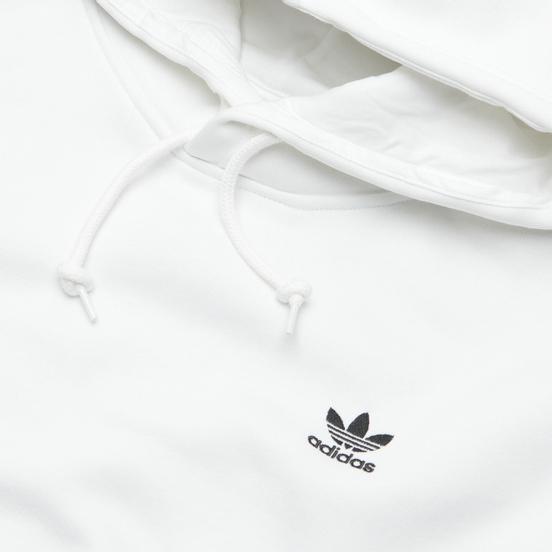 Мужская толстовка adidas Originals Trefoil Essentials Hoodie White