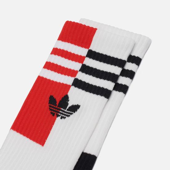 Комплект носков adidas Originals 2-Pack Color Block Crew Black/White