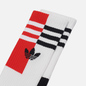 Комплект носков adidas Originals 2-Pack Color Block Crew Black/White фото - 1