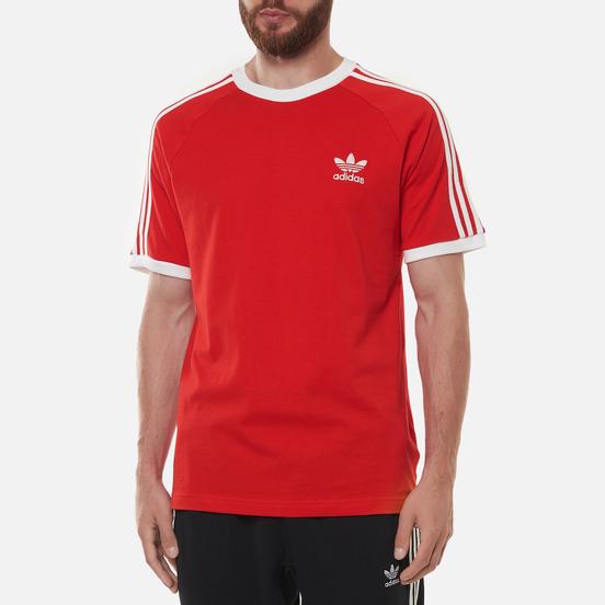 Мужская футболка adidas Originals 3-Stripes Red