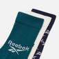 Комплект носков Reebok 3-Pack Classic Fold-Over Crew Midnight Pine фото - 1