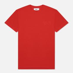 Женская футболка Y-3 Classic Logo Collegiate Red
