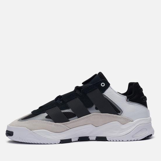 Мужские кроссовки adidas Originals Niteball Core Black/White/Silver Metallic