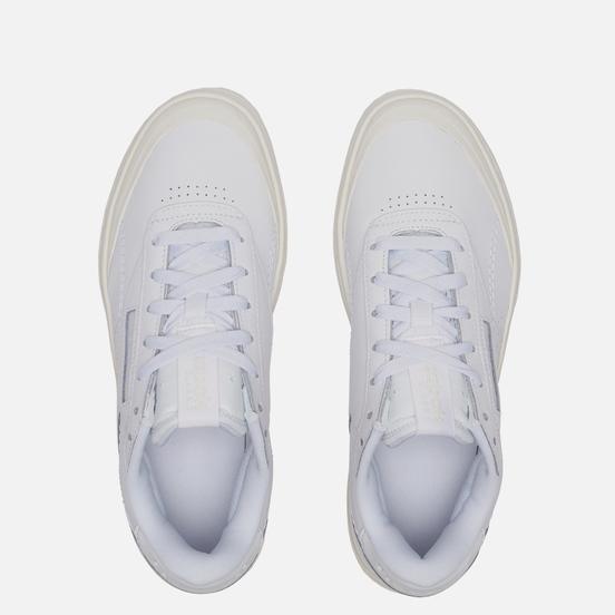 Женские кроссовки Reebok Club C Double GEO White/White/Chalk