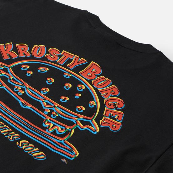 Мужской лонгслив adidas Originals x The Simpsons Krusty Burger Black