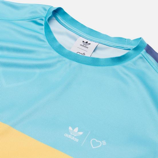 Мужская футболка adidas Originals x Human Made Graphic Light Aqua/St. Fade Gold