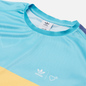 Мужская футболка adidas Originals x Human Made Graphic Light Aqua/St. Fade Gold фото - 1