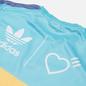 Мужская футболка adidas Originals x Human Made Graphic Light Aqua/St. Fade Gold фото - 2
