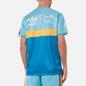 Мужская футболка adidas Originals x Human Made Graphic Light Aqua/St. Fade Gold фото - 4