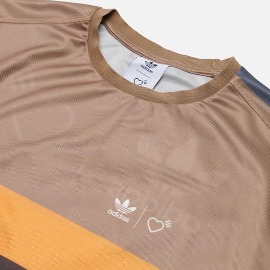Мужская футболка adidas Originals x Human Made Graphic Cardboard/Tangerine