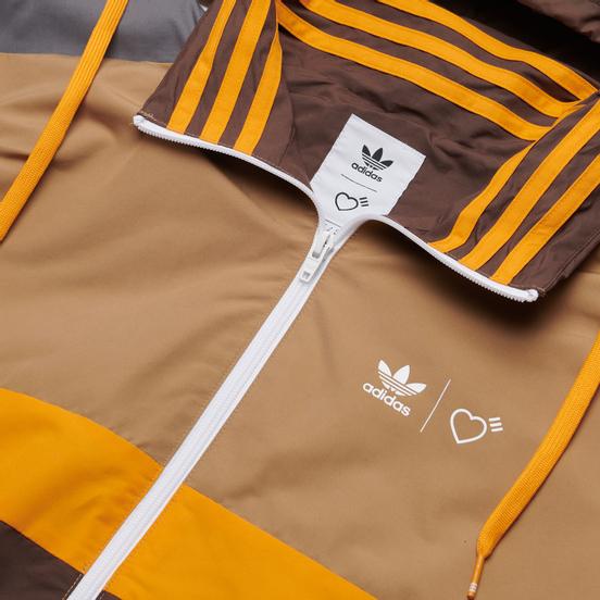 Мужская куртка adidas Originals x Human Made Windbreaker Cardboard/Tangerine