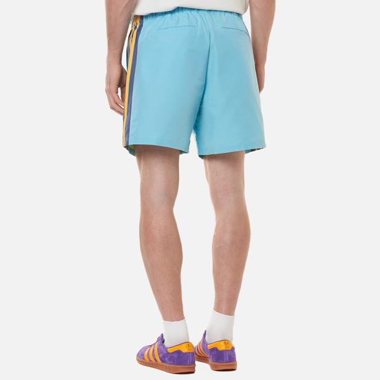 Мужские шорты adidas Originals x Human Made Wind Light Aqua/St. Fade Gold