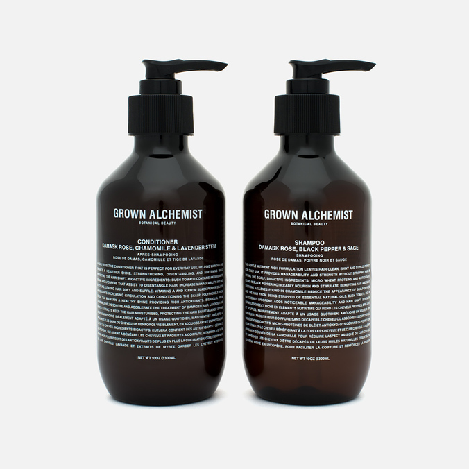 Набор средств для волос Grown Alchemist Shampoo & Conditioner Twin Set 2x300ml
