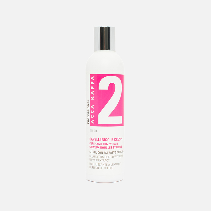 Масло-гель для волос Acca Kappa Lime Flower Extract Curly and Frizzy 250ml