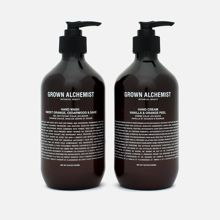 Набор средств для рук Grown Alchemist Handwash & Handcream Twin Set 2x500ml