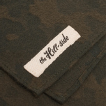 The Hill-Side Brushed Jacquard Handkerchiefs Camouflage Green photo- 2