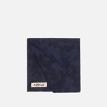 The Hill-Side Brushed Jacquard Handkerchiefs Camouflage Navy photo- 1