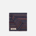 Платок The Hill-Side Old Virginia Plain Weave Stripe Navy фото- 1