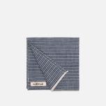 The Hill-Side Selvedge Double Stripe Handkerchiefs Indigo photo- 1