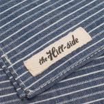 The Hill-Side Selvedge Double Stripe Handkerchiefs Indigo photo- 2