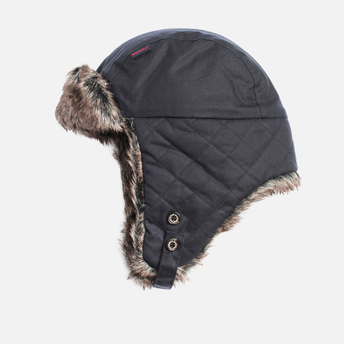 Мужская шапка Barbour Grassmere Trapper Navy