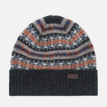 Шапка Barbour Malrose Fairisle Beanie Grey Multi фото- 0