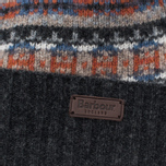 Шапка Barbour Malrose Fairisle Beanie Grey Multi фото- 1