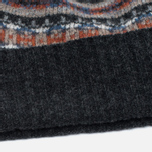 Шапка Barbour Malrose Fairisle Beanie Grey Multi фото- 2