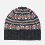 Шапка Barbour Malrose Fairisle Beanie Grey Multi фото- 3