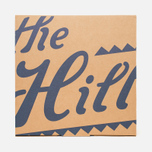 Шляпа The Hill-Side Indigo Panama Cloth Band Brown фото- 7
