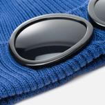 Мужская шапка C.P. Company Beanie Goggle Indigo Blue фото- 1