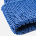 Мужская шапка C.P. Company Beanie Goggle Indigo Blue фото- 2