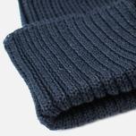 Мужская шапка C.P. Company Beanie Goggle Navy фото- 2