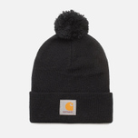 Carhartt WIP Booble Watch Hat Black photo- 0