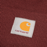 Шапка Carhartt WIP Booble Watch Bordeaux фото- 1